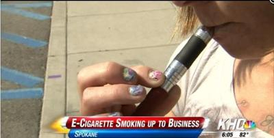 Some businesses ban E-cigarettes inside