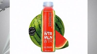 Watermelon Water recalled as soft plastic may be loosely floating in the water causing choking hazard