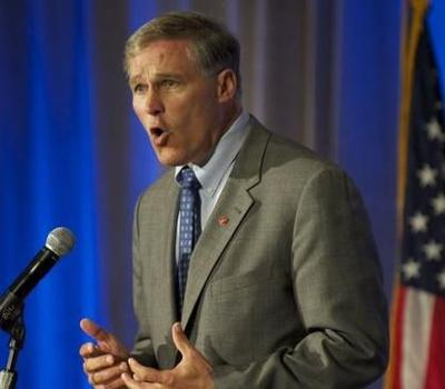 Inslee And Gregoire Meet To Discuss Transition
