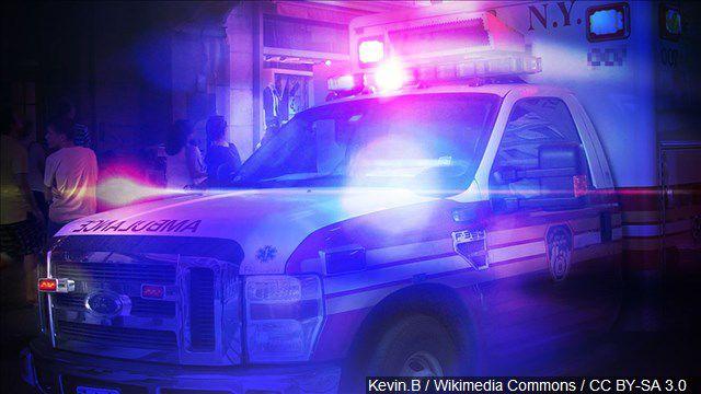 Boise man hospitalized after crashing into median barrier on