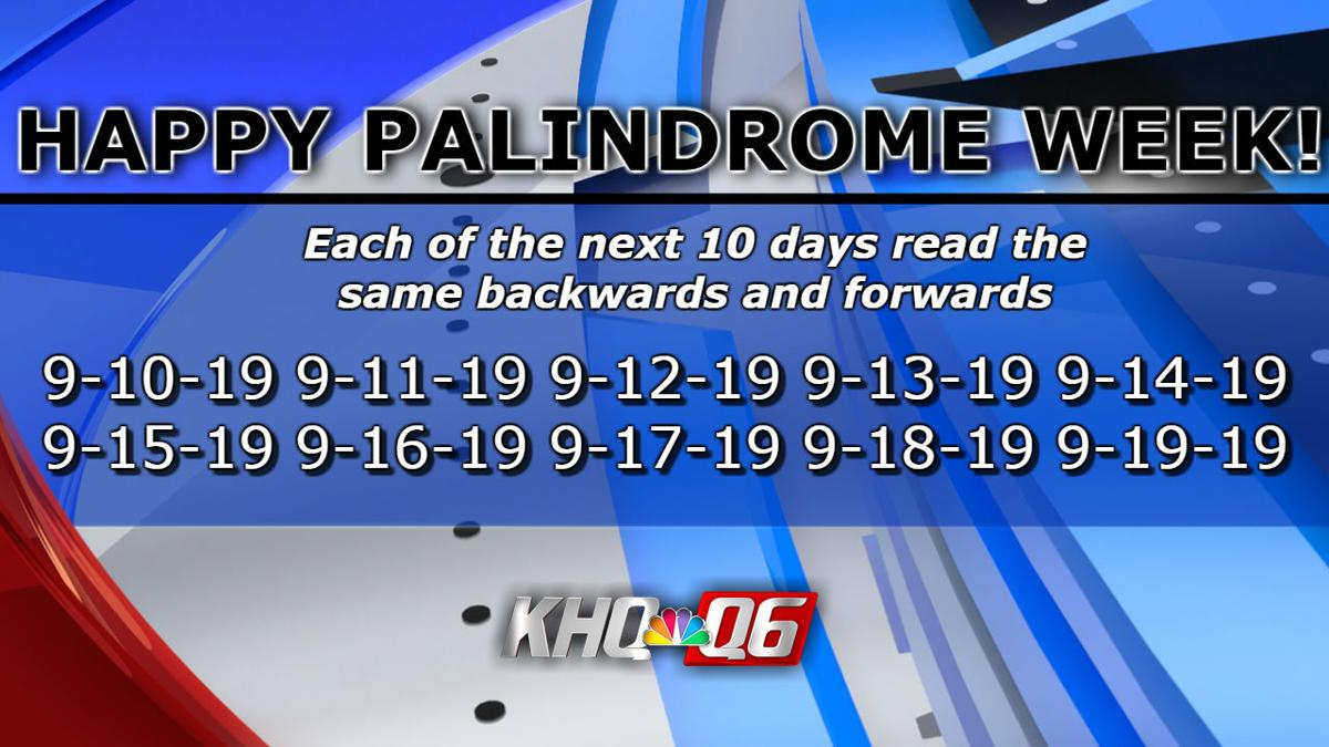 September  Has Final Stretch Of Consecutive Palindrome Dates