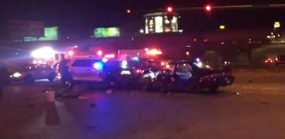Driver arrested after high speed crash in Spokane Valley