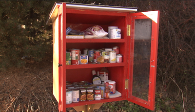 Little free pantries expand to bring food security to Spokane neighborhoods