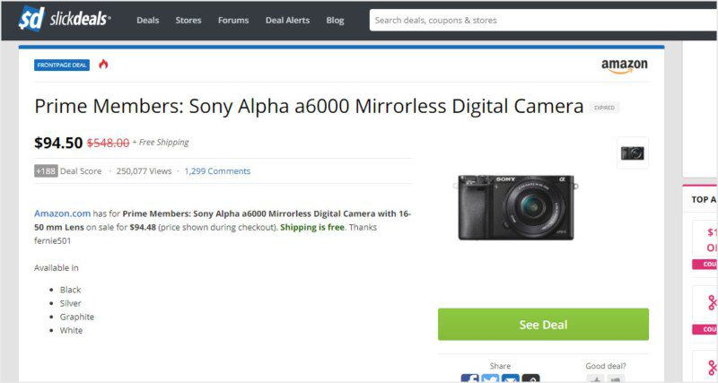 Amazon accidentally sells $5,000 plus camera gear for $100