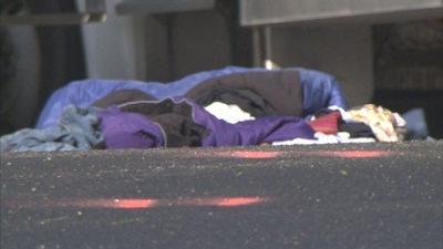 UPDATE: Woman hit by truck while sleeping near road dies | News