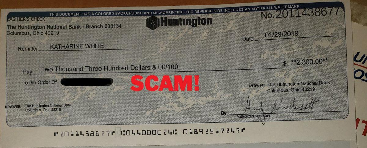 Grant County Sheriff S Office Warns Of Cashier Check Money Order Scam News Khq Com