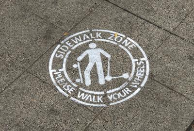 walk your wheels