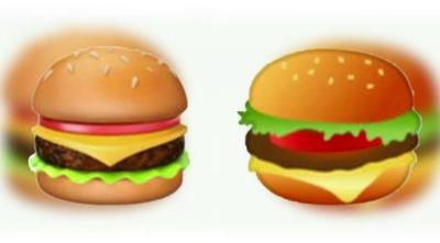 What's Wrong With These Burgers? People are freaking out about burger emojis