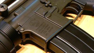 Group decides it will not raffle AR-15 rifle at fundraiser