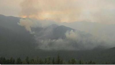 Wildfires burning in Idaho Panhandle National Forests