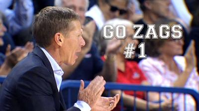 PHOTOS: Gonzaga's #1... time for some new wallpaper!