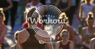 Summer workout series downtown Spokane