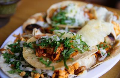 tacos food dinner lunch al pastor
