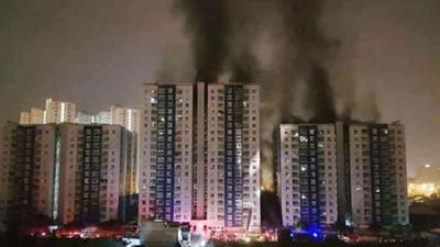 Vietnam condo fire kills at least 13, injures 27