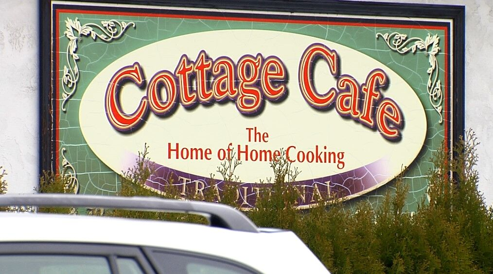 Cottage Cafe Sign