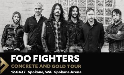CONCERT ANNOUNCEMENT: Foo Fighters coming to Spokane Arena!