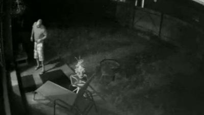 Security cameras catch stranger touching himself in Spokane woman's backyard