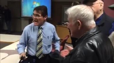 Council meeting ends with council member Mike Fagan calling council President Ben Stuckart a coward