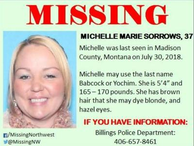 michelle sorrows missing
