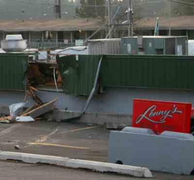 SLIDESHOW: Car Crashes Into Lenny's Restaurant in Cheney