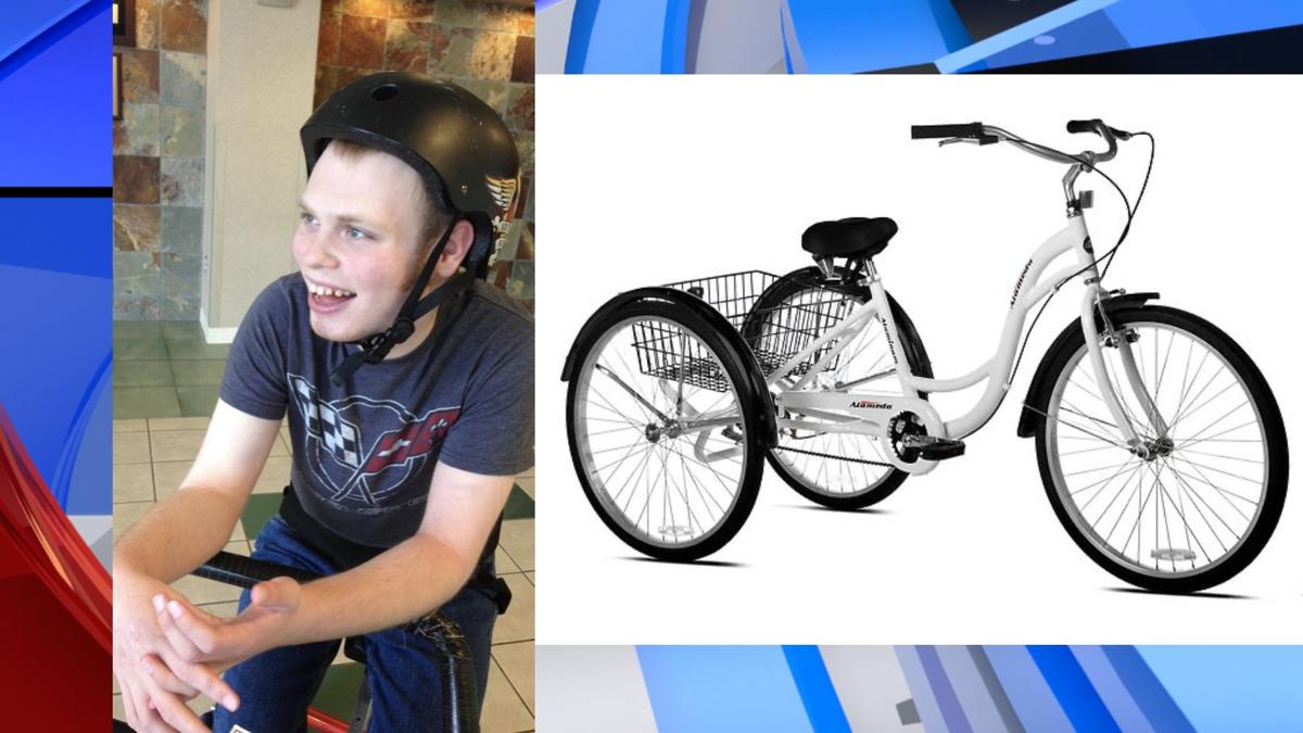 Tricycle stolen near Spokane adult-supported living facility