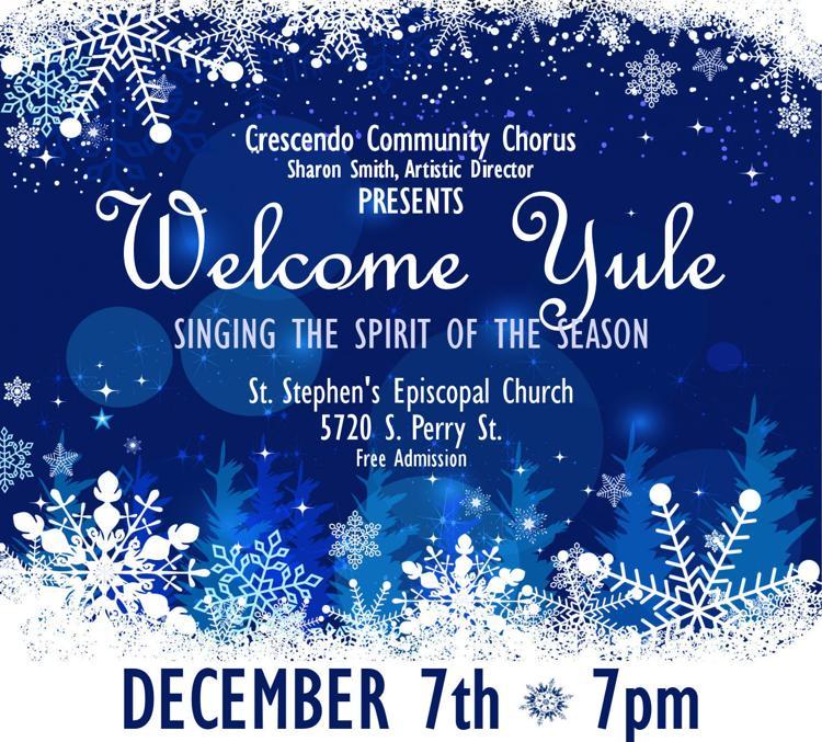 Crescendo Community Chorus Holiday Concert