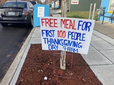 Free meals on Thanksgiving