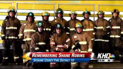 Remembering Spokane District 10 Firefighter Shane Robins