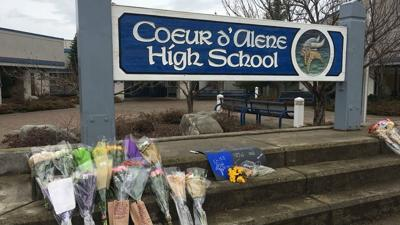 Coeur d'Alene High School students continue to grieve loss of principal