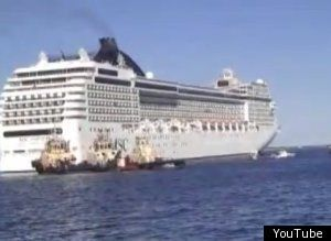 Watch Cruise Ship Runs Aground In Bahamas News Khq Com