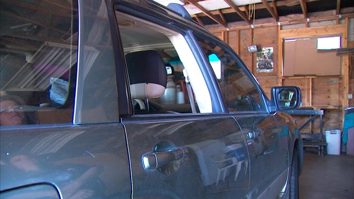 North Spokane Family Urges Vigilance After Car Window Broken By Rock