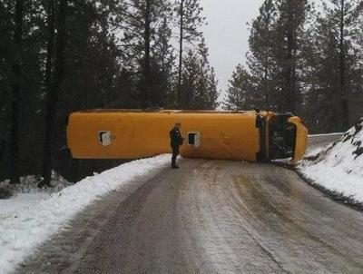 PHOTOS: 27 Students On School Bus That Crashed In Stevens County
