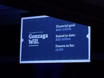 Gonzaga University announces $55 million donation