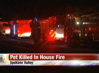 Spokane Valley Fire Dept: Three Late Night Fires Keep Firefighters Busy