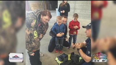 Spokane firefighter works to ease stress of emergency situations for children with autism
