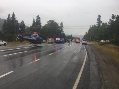 Idaho State Police responding to blocking, injury crash on Highway 95 north of Sandpoint