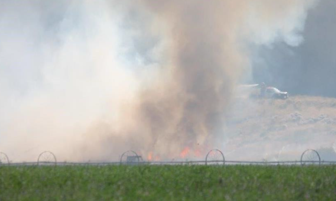 Spring Coulee Fire