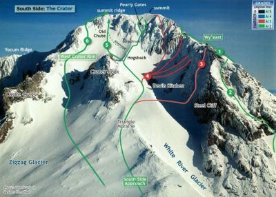 Seattle climber dies after fall on Mount Hood