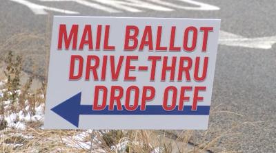 ballot drive-thru