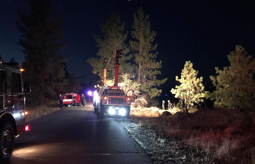 BREAKING: Technical rescue is progress at Riverside State Park