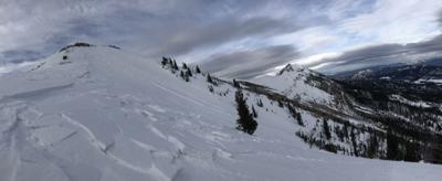 bridger peak avalanche pic