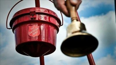 Post Falls Police looking for Salvation Army kettle thief