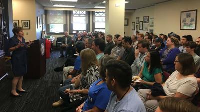 Democratic candidate Lisa Brown kicks off college campus tour