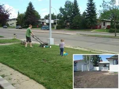 Someone Stole A Front Yard...Yes...A Front Yard!