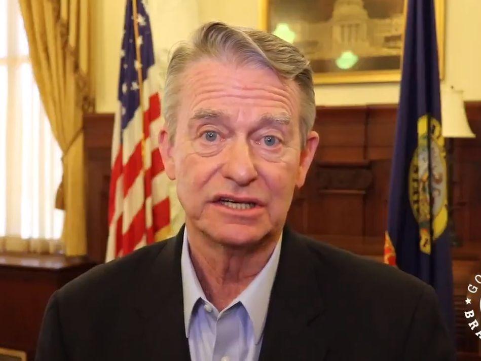 Idaho Governor Brad Little to veto emergency power bills