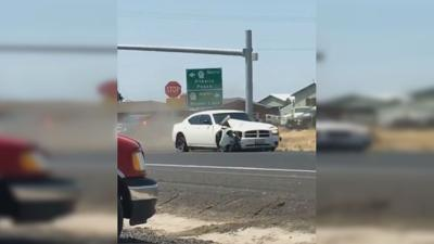 Wanted Warden man leads Moses Lake Police on chase
