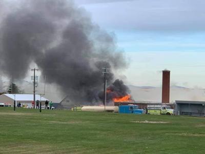 Almira School Fire