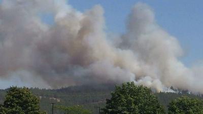Spokane Complex Fire Map.Firefighters Battling Spokane Complex Fire Near Beacon Hill And