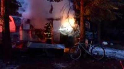 Person escapes RV fire in Sagle without injury
