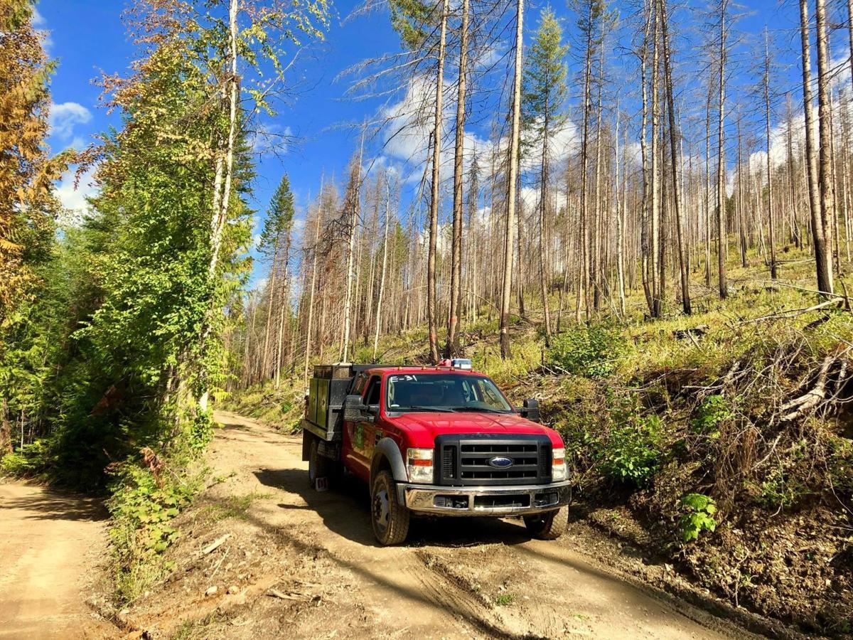 North Mill Creek Fire